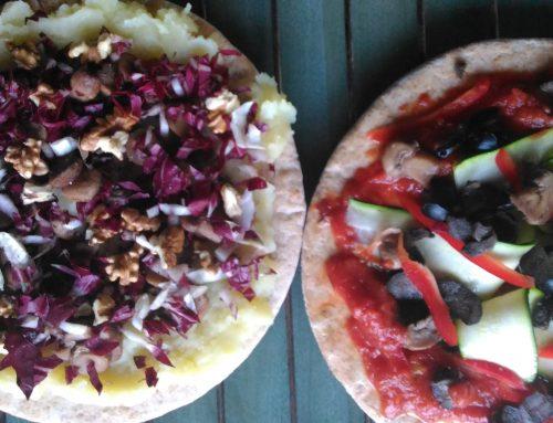 Pizza Vegan 2 modi