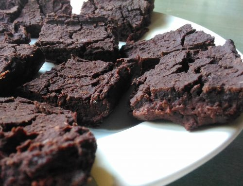 Brownies di fagioli (gluten free, no oil)