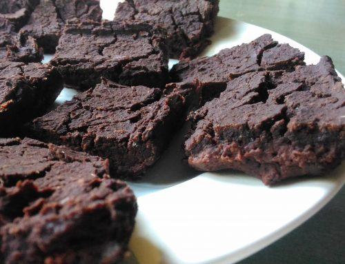Brownies di fagioli (gluten free, no oil)